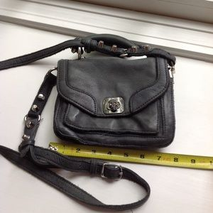 Zadig & Voltaire bag grey let her skull closer